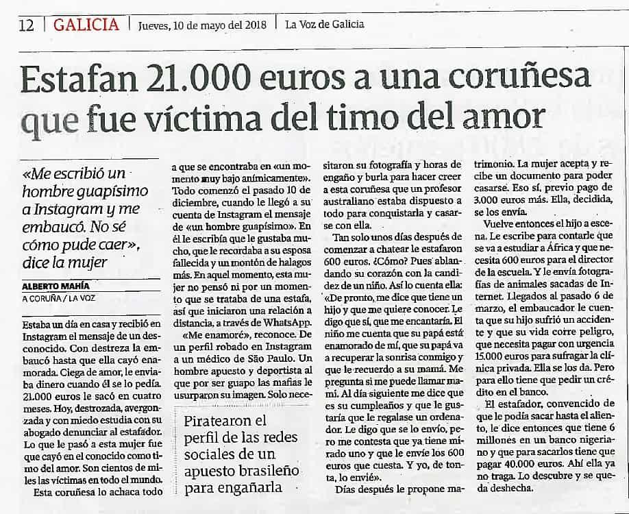 1. LA VOZ - TIMO DEL AMOR - 21.000 € - 1