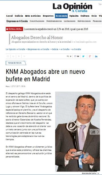 96._LA_OPINION_-_KNM_ABRE_NUEVO_DESPACHO_EN_MADRID