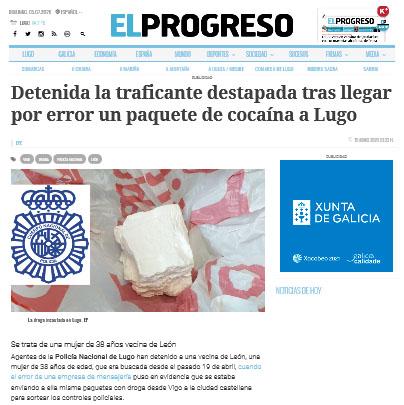 COCAINA - DETENIDA ENVIO POR ERROR - KOSTKA FERNANDEZ ABOGADO